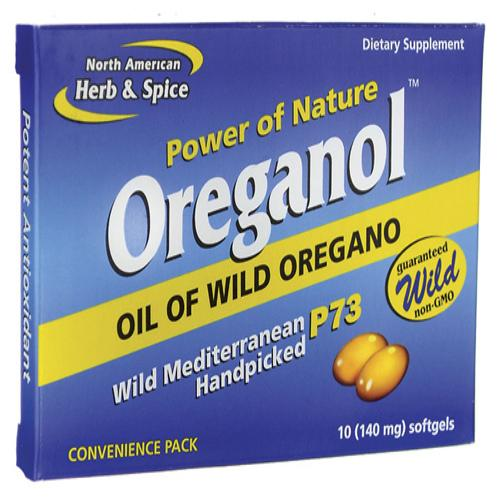 North American Herb And Spice Oreganol - P73 - Convenience Pack - 10 Softgels - Vita-Shoppe.com