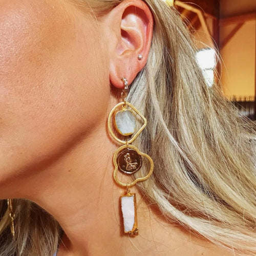 Dorothea Charm Earrings