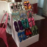 crochet shoes by GiGi - artesania RD