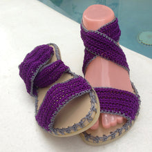 Woman Crochet Sandals MAMBO by GiGi
