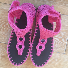 Woman Crochet Sandals CHINOLA2 by GiGi