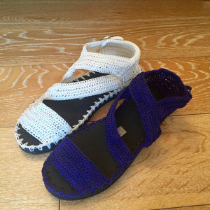 Woman Crochet Sandals MANGO by GiGi