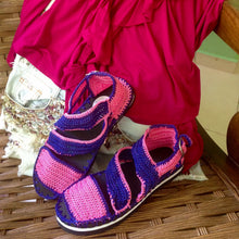 Woman Crochet Sandals MANGO2 by GiGi