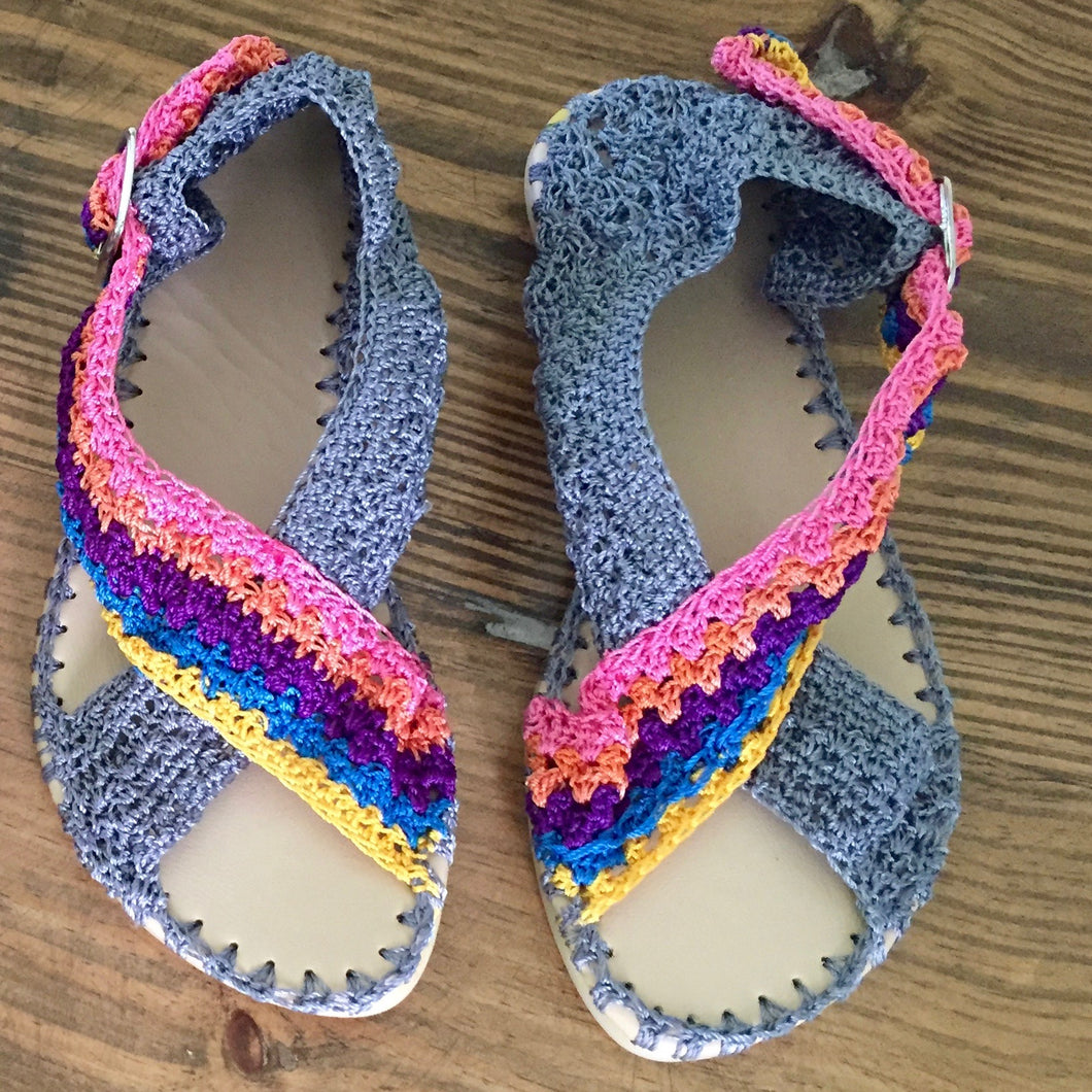 Woman Crochet Sandals RUMBA by GiGi