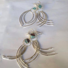Earrings OLA handmade jewelry - artesania RD