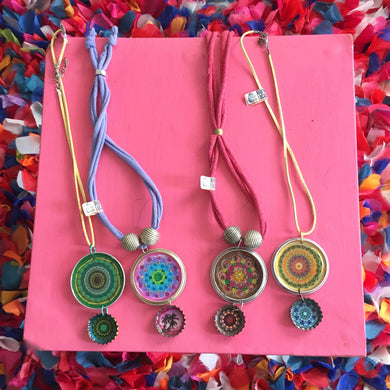 Necklaces 2 METAL CAP by Kana Rapai