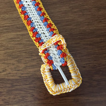 Crochet belt by GiGi - artesania RD
