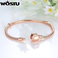 Bracelet Or Rose Ajustable