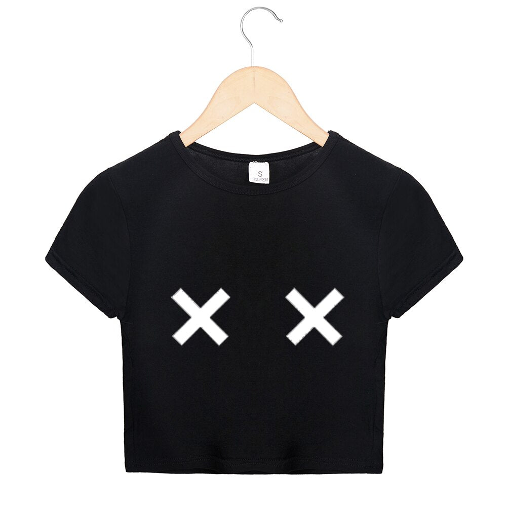 T-shirt Crop top BOOBZ