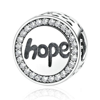 Charm argent Hope