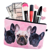 Trousse de maquillage bouledogue