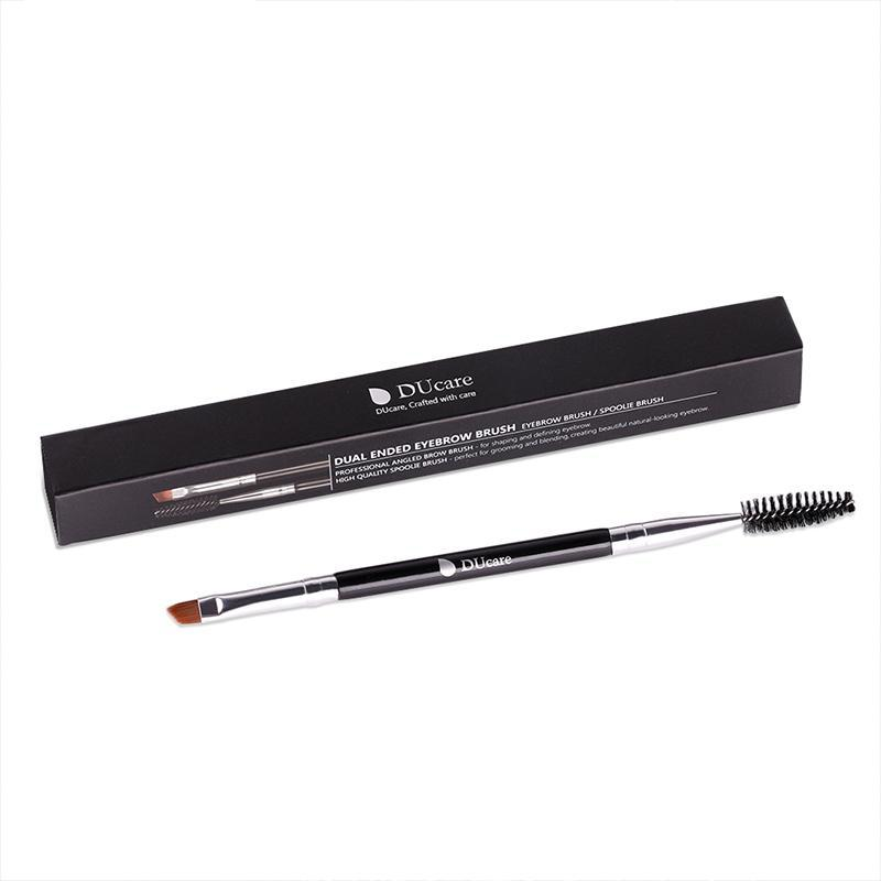 Pinceau sourcils double embout