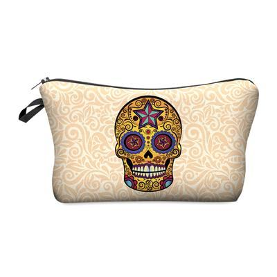 Trousse de maquillage Mexican skull