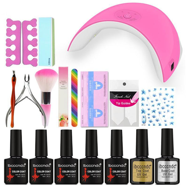 Nail art set lamp Uv 36 W
