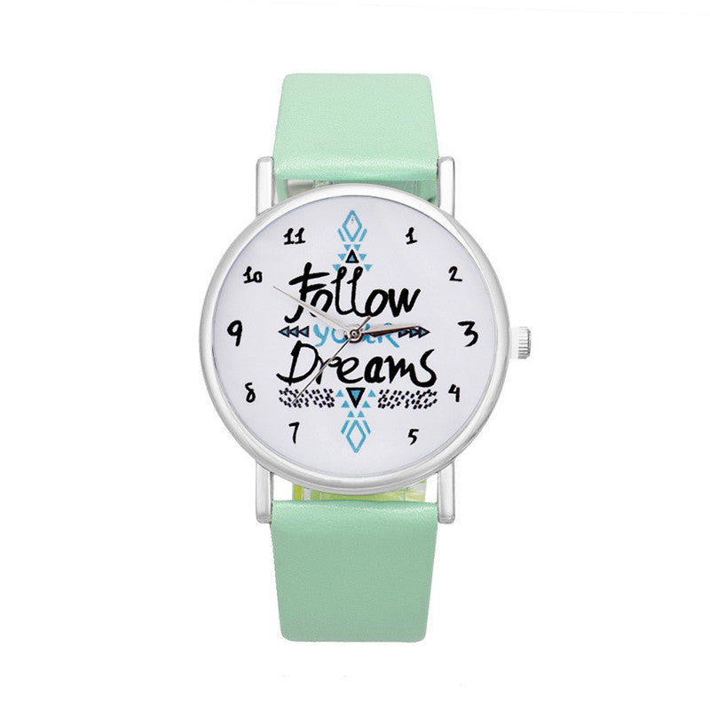 Montre Follow Your Dreams