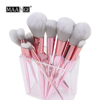 Set 10 Pinceaux Maquillage