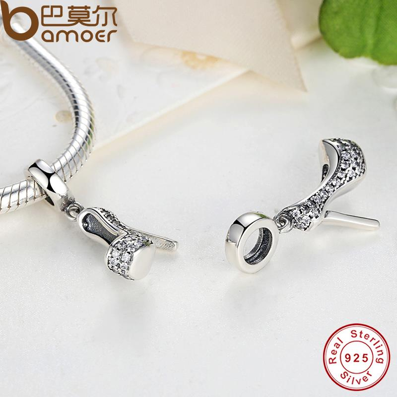 Charm argent talon girly
