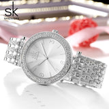 Montre Cristal Diamant