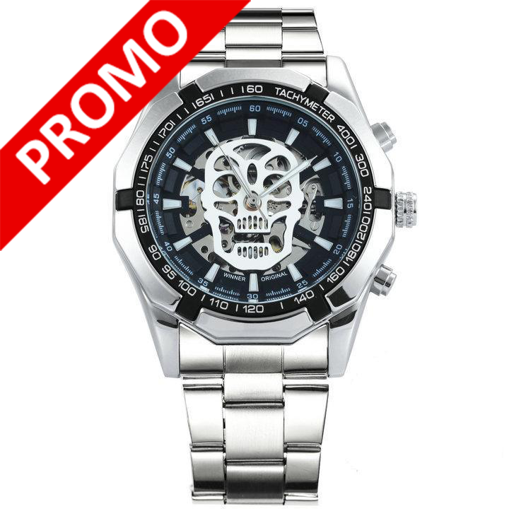 Montre Skull Automatique
