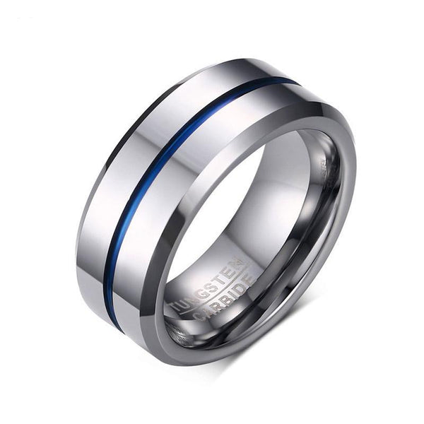 Bague Gentlemen Silver Blue