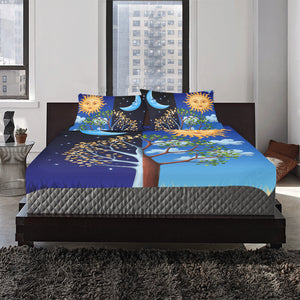 Sun and moon 3-Pieces Bedding Set