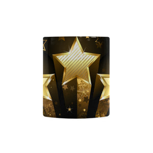 Golden Stars White Mug(11OZ)