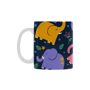 Elephant White Mug(11OZ)