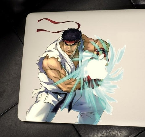 Street Fighter Macbook Decal
