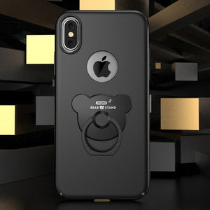 Bear Smart Ring iPhone X Case