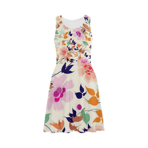 Feather And Flowers Atalanta Sundress (Model D04)