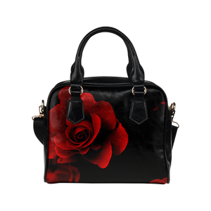 Red Rose Shoulder Handbag (Model 1634)