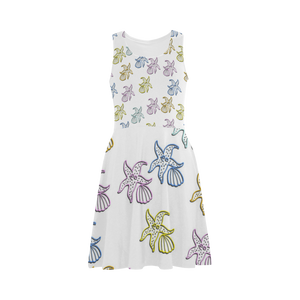 Colorful Starfish Atalanta Sundress (Model D04)