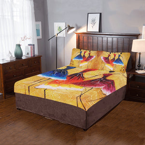 Oil Painting Spanish Dance 3-Pieces Bedding Set