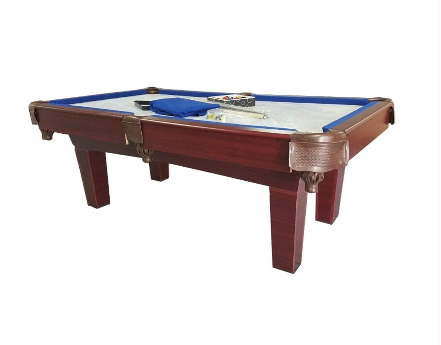 Foot Blue Black Slate Pool Table Hipster Family - Seven foot pool table