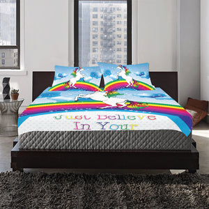 just believe in your dreams 3-Pieces Bedding Set