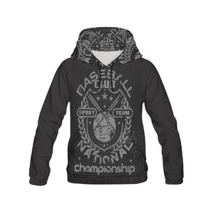 baseball championship All Over Print Hoodie for Men (USA Size) (Model H13)