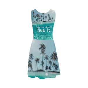 Life Is That Live It Atalanta Sundress (Model D04)