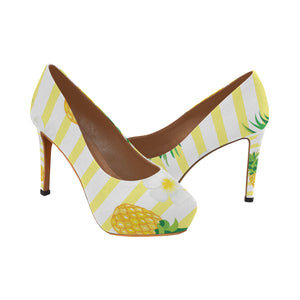 pineapple Women's High Heels (Model 044)