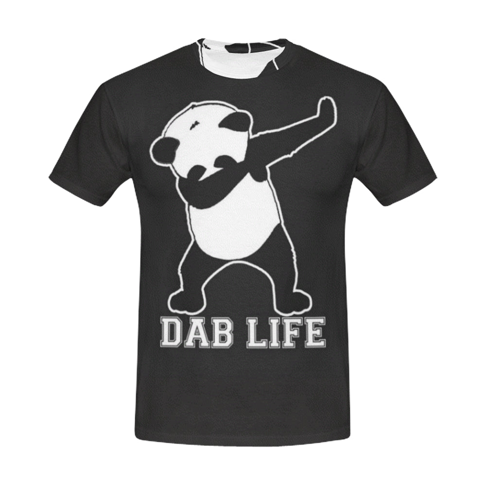 Panda All Over Print T-Shirt for Men (USA Size) (Model T40)