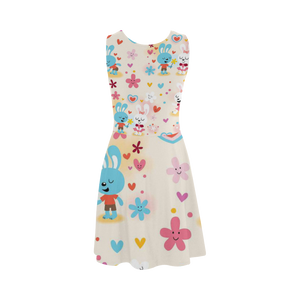 Cute Rabbit Atalanta Sundress (Model D04)