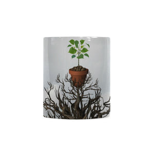 Old Tree White Mug(11OZ)