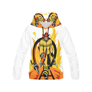 Fireman All Over Print Hoodie for Men (USA Size) (Model H13)