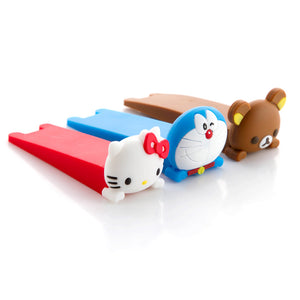 Baby Cartoon Doorstop Door Clip - Hipster Family