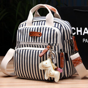 Multifunction Diaper Bag Backpack with Horse Ornaments