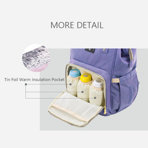 Fashionable Maternity Diaper Backpack Bag by Sunveno