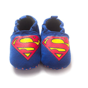 Superman Baby Boy Bebe Moccasin - Hipster Family