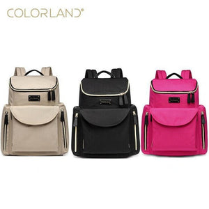 Colorland Backpack Diaper Bag - Hipster Family