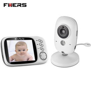 Fuers 3.2 inch High Resolution Wireless Baby Monitor