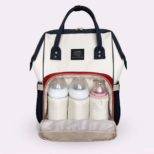 Multi function Backpack Diaper Bag - Hipster Family