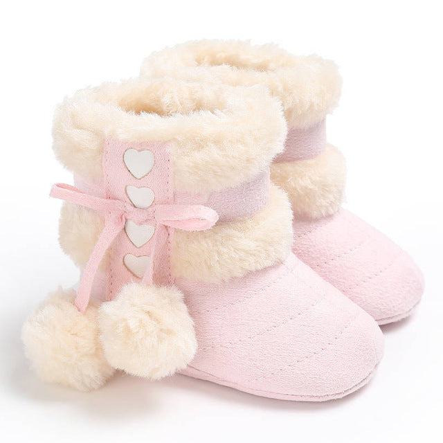 2017 Cute Ball Winter Fashion Baby Moccasins - Hipster Family